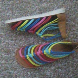 Other - Rainbow sandals